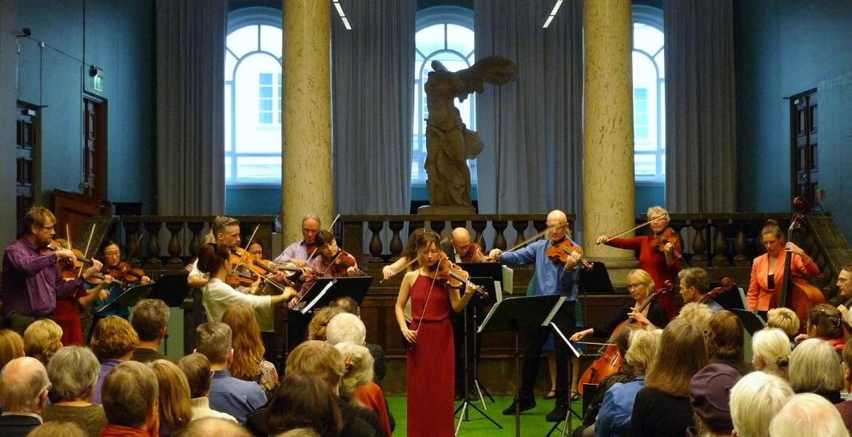 Fra konsert med Sara Övinge i Nasjonalgalleriet februar 2018